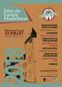 Fête de Sainte Madeleine au Château de Preisch 57570 Basse-Rentgen du 22-07-2018 à 10:00 au 22-07-2018 à 19:00