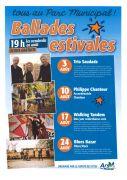 Ballades Estivales d'Ars-sur-Moselle 57130 Ars-sur-Moselle du 03-08-2018 à 19:00 au 24-08-2018 à 21:00