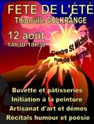 Fête de l'Été à Volkrange-Thionville 57100 Thionville du 12-08-2018 à 14:30 au 12-08-2018 à 18:30