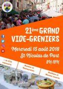 Vide-Greniers à Saint-Nicolas-de-Port 54210 Saint-Nicolas-de-Port du 15-08-2018 à 08:00 au 15-08-2018 à 18:00