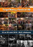 Tsiga'Nancy Festival 54000 Nancy du 23-08-2018 à 18:00 au 25-08-2018 à 23:59