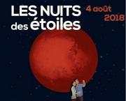 Nuits des Étoiles en Lorraine Meurthe-et-Moselle, Meuse, Moselle et Vosges du 03-08-2018 à 15:00 au 05-08-2018 à 23:59