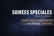 Nuit des Étoiles au Planétarium d'Épinal 88000 Epinal du 04-08-2018 à 15:00 au 04-08-2018 à 23:59