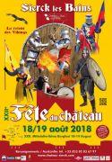 Fête du Château à Sierck-les-Bains 57480 Sierck-les-Bains du 18-08-2018 à 16:00 au 19-08-2018 à 19:00