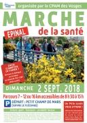 Marche de la Santé à Épinal 88000 Epinal du 02-09-2018 à 08:30 au 02-09-2018 à 17:00