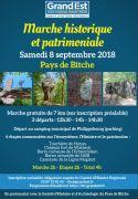 Marche Historique et Patrimoniale au Pays de Bitche 57230 Philippsbourg du 08-09-2018 à 13:30 au 08-09-2018 à 18:30