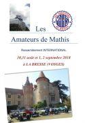 Manifestation Voitures Anciennes Mathis à La Bresse 88250 La Bresse du 30-08-2018 à 14:00 au 02-09-2018 à 18:00