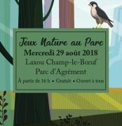 Jeux Nature au Parc à Laxou 54520 Laxou du 29-08-2018 à 16:00 au 29-08-2018 à 21:30