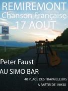 Concert Chanson Française à Remiremont 88200 Remiremont du 17-08-2018 à 19:30 au 17-08-2018 à 22:00