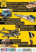 Exposition Internationale de Modélisme à Mirecourt