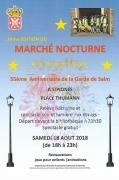 Marché Nocturne à Senones 88210 Senones du 18-08-2018 à 18:00 au 18-08-2018 à 23:00