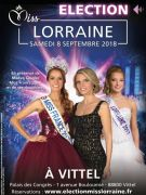 Élection Miss Lorraine à Vittel
