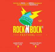 Rock'N Bock Festival Fête de la Bière à Maxéville 54320 Maxéville du 08-09-2018 à 17:00 au 09-09-2018 à 20:00