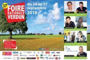 Foire de Verdun à Verdun Expo Meuse   55100 Verdun du 13-09-2018 à 14:00 au 17-09-2018 à 17:00