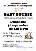 Baby Bourse à Châtel-sur-Moselle 88330 Châtel-sur-Moselle du 30-09-2018 à 14:00 au 30-09-2018 à 17:00