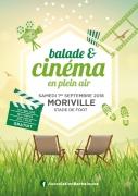 Balade Nature et Cinéma sous les Étoiles à Moriville 88330 Moriville du 01-09-2018 à 17:00 au 01-09-2018 à 23:00