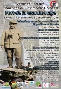Journées du Patrimoine Fort Grande Haye à Golbey 88190 Golbey du 29-09-2018 à 10:00 au 30-09-2018 à 18:00