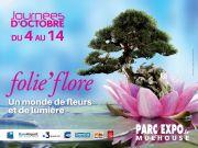 Show Floral Folie'Flore au Parc Expo de Mulhouse Parc Expo de Mulhouse 120, rue Lefebvre 68100 Mulhouse du 04-10-2018 à 17:00 au 14-10-2018 à 20:00