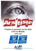 Exposition Ars'tiste à Ars-sur-Moselle 57130 Ars-sur-Moselle du 22-09-2018 à 10:00 au 23-09-2018 à 18:00