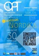 Concert NordiKa à Thionville 57100 Thionville du 30-09-2018 à 16:00 au 30-09-2018 à 17:00