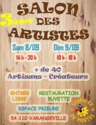 Salon des Artistes à Varangéville 54110 Varangéville du 08-09-2018 à 14:00 au 09-09-2018 à 18:00