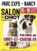 Salon du Chiot Parc Expositions Nancy 54500 Vandoeuvre-lès-Nancy du 15-09-2018 à 10:00 au 15-09-2018 à 18:30