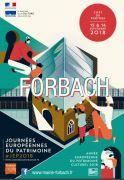 Journées du Patrimoine à Forbach 57600 Forbach du 15-09-2018 à 08:00 au 16-09-2018 à 18:00