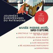 Journée du Patrimoine Musée Pierre Noël Saint-Dié-des Vosges 88100 Saint-Dié-des-Vosges du 15-09-2018 à 10:00 au 16-09-2018 à 18:00