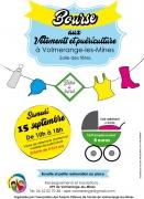 Bourse Vêtements et Puériculture à Volmerange-les-Mines 57330 Volmerange-les-Mines du 15-09-2018 à 10:00 au 15-09-2018 à 18:00