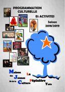 Programme Saison 2018/2019 MJC Yutz 57970 Yutz du 14-09-2018 à 20:00 au 30-06-2019 à 23:59