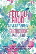 Fête du Fruit à Chenicourt 54610 Chenicourt du 14-10-2018 à 10:00 au 14-10-2018 à 18:00