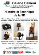 Exposition Histoire de la 3D à Saint-Nicolas-de-Port 54210 Saint-Nicolas-de-Port du 05-09-2018 à 14:00 au 28-10-2018 à 18:30
