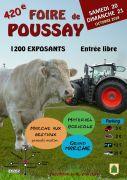 Foire de Poussay 2018 88500 Poussay du 20-10-2018 à 09:00 au 21-10-2018 à 18:00