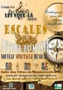 Spectacle Musical Escales Autour du Monde à Moyeuvre-Grande 57250 Moyeuvre-Grande du 05-10-2018 à 20:30 au 07-10-2018 à 18:00