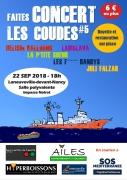 Faites Concert Les Coudes à Laneuveville-devant-Nancy 54410 Laneuveville-devant-Nancy du 22-09-2018 à 18:00 au 23-09-2018 à 01:00