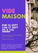 Vide-Maison à Anould 88650 Anould du 16-09-2018 à 09:00 au 17-09-2018 à 17:00