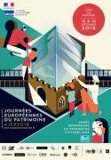 Journées du Patrimoine à Bliiida à Metz 57000 Metz du 15-09-2018 à 11:00 au 16-09-2018 à 19:30