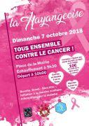 Hayangeoise Course Contre le Cancer à Hayange 57700 Hayange du 07-10-2018 à 09:30 au 07-10-2018 à 12:00