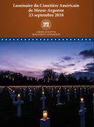 Luminaire du Cimetière Américain de Meuse-Argonne 55110 Romagne-sous-Montfaucon du 22-09-2018 à 12:45 au 23-09-2018 à 22:00
