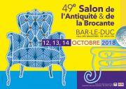 Salon des Antiquaires à Bar-le-Duc 55000 Bar-le-Duc du 12-10-2018 à 10:00 au 14-10-2018 à 19:00