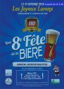 Fête de la Bière avec les Joyeux Lurons de Yutz 57970 Yutz du 21-10-2018 à 11:30 au 21-10-2018 à 18:30
