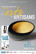 Salon d'Arts en Artisans à Montigny-lès-Metz 57950 Montigny-lès-Metz du 19-10-2018 à 14:00 au 21-10-2018 à 19:00