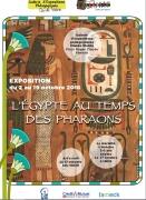 Exposition Égypte au temps des Pharaons à Fameck 57290 Fameck du 02-10-2018 à 09:00 au 19-10-2018 à 11:30