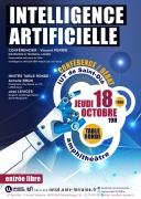 Conférence Intelligence Artificielle à Saint-Dié-des-Vosges 88100 Saint-Dié-des-Vosges du 18-10-2018 à 19:00 au 18-10-2018 à 20:30
