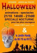 Halloween au Jardin des Traces à Uckange 57270 Uckange du 21-10-2018 à 14:00 au 21-10-2018 à 21:00