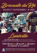 Brocante du Roi à Lunéville 54300 Lunéville du 01-11-2018 à 08:00 au 01-11-2018 à 18:00