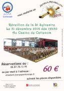 Soirée de la Saint-Sylvestre à Cattenom 57570 Cattenom du 31-12-2018 à 19:30 au 01-01-2019 à 04:00
