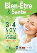 Salon de la Santé et du Bien-Être à Lunéville 54300 Lunéville du 03-11-2018 à 10:00 au 04-11-2018 à 19:00