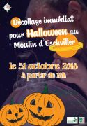 Halloween en Famille au Moulin d'Eschviller  57720 Volmunster du 31-10-2018 à 18:00 au 31-10-2018 à 21:59