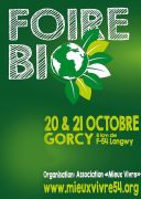 Foire Bio de la Cussignière à Gorcy 54730 Gorcy du 20-10-2018 à 11:00 au 21-10-2018 à 18:00